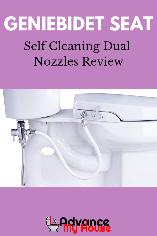Geniebidet Seat Self Cleaning Dual Nozzles Review