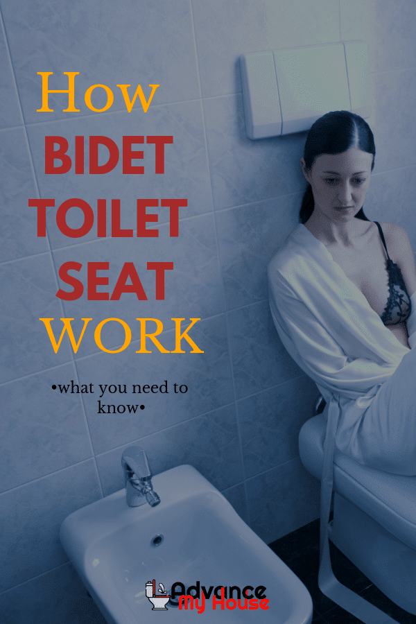 How Does a Bidet Toilet Seat Work