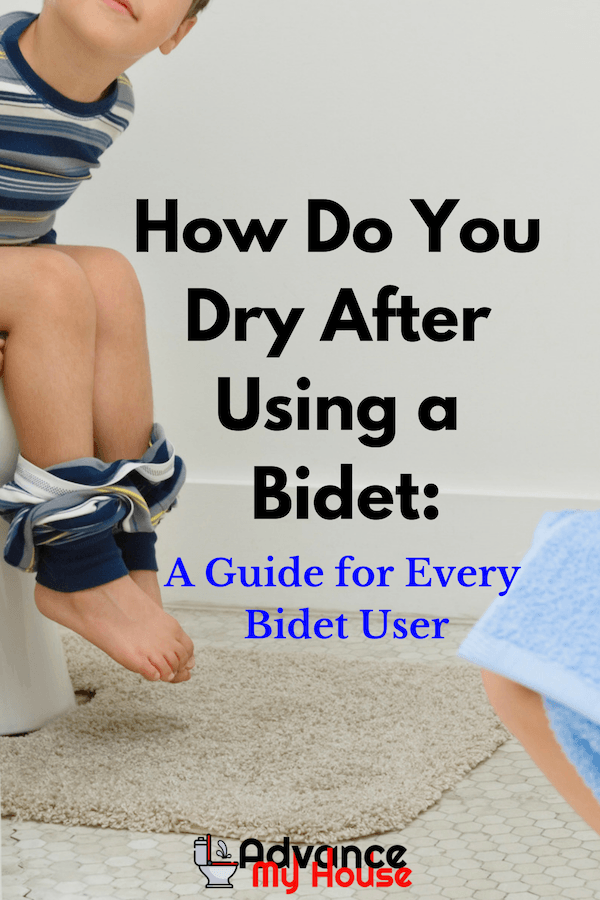 How Do You Dry After Using a Bidet